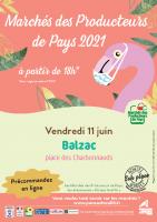 Affiche Marché Balzac